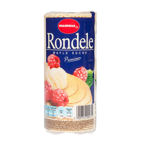Rondele - dry round wafers