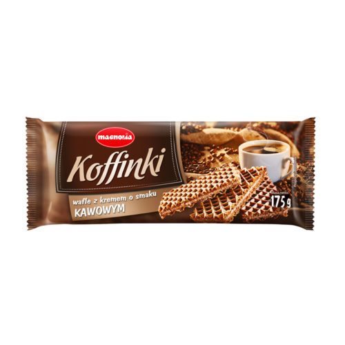 Koffinki - wafers with coffee flavoured filling