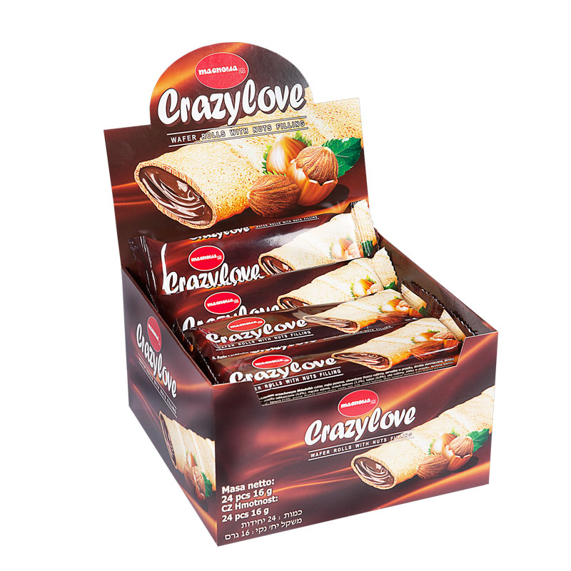 Crazy Love - roll with hazelnut filling