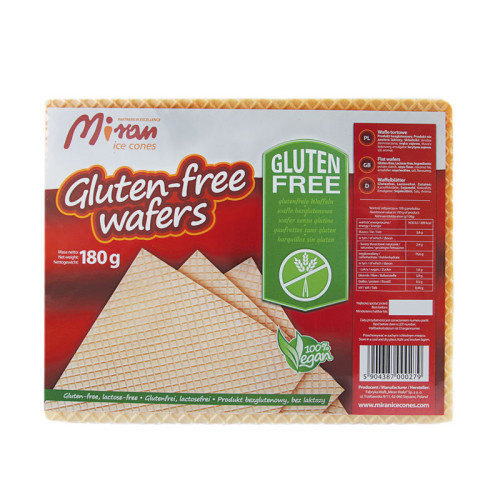 Dry cut wafers gluten free - 180 g