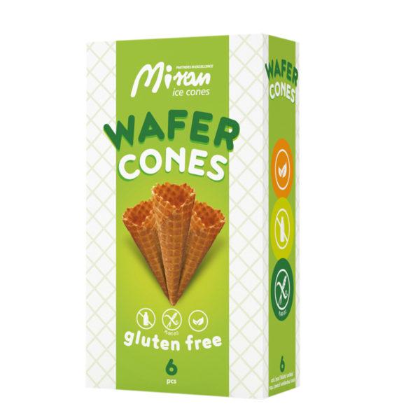 Wafer cones gluten free